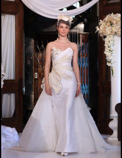 exclusieve zijde bruidsjurk