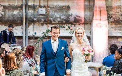 Bekendmaking winnen bruidsparen van de waardecheque