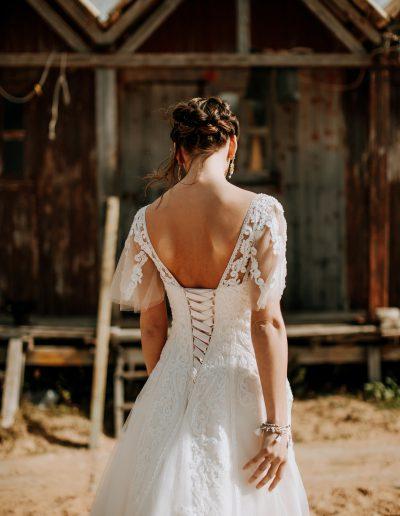 Bruidsjurken Uden